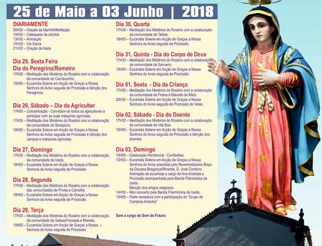 Festa em Honra de Nª Srª do Aviso – 2018