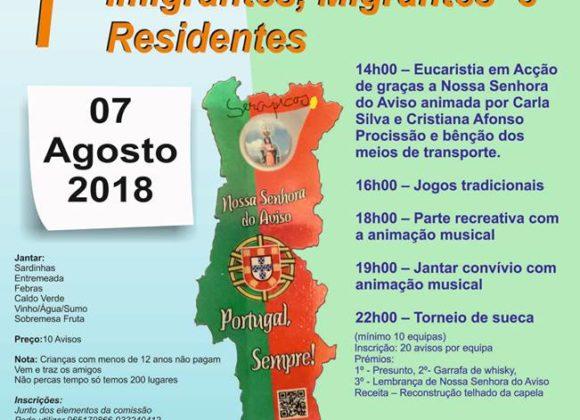 1º Encontro Emigrantes, Imigrantes, Migrantes e Residentes – 2018