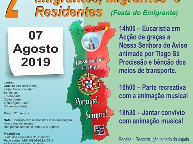 2º Encontro Emigrantes, Imigrantes, Migrantes e Residentes – 2019