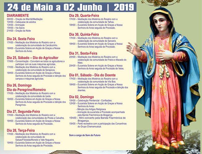 Festa em Honra de Nª Srª do Aviso – 2019
